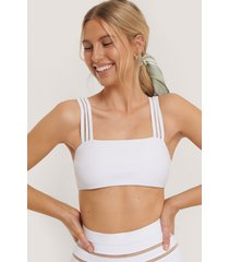 na-kd swimwear bikiniöverdel - white