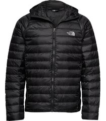 m trevail hoodie fodrad jacka svart the north face