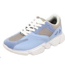 tênis dad sneaker chunky selten azul bebe - kanui