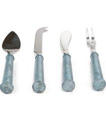 mind reader 4 piece cheese utensil set