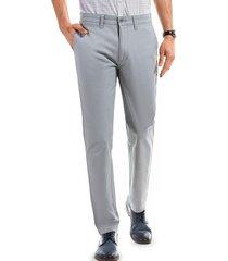 pantalón twill slim l/33 crudo ferouch