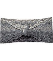 chevron-print knot headband