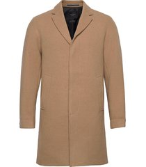 slhhagen wool coat b wollen jas lange jas beige selected homme