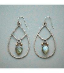 arrowhead labradorite earrings