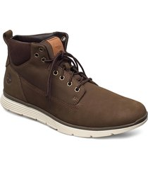 killington chukka höga sneakers brun timberland