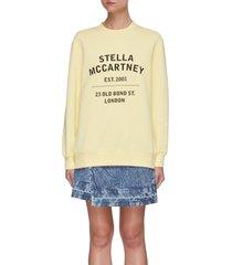 23 bond street print sweatshirt
