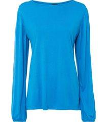 maglia con maniche a palloncino (blu) - bodyflirt