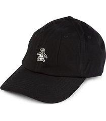 original penguin men's logo baseball cap - dark sapphire