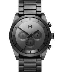 mvmt element chronograph bracelet watch, 44mm