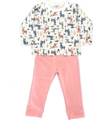 pijama moletom feminino color㪠estampado - estampado - feminino - dafiti