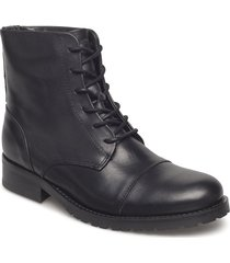 ave midcut shoes boots ankle boots ankle boot - flat svart royal republiq