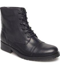 ave midcut shoes boots ankle boots ankle boots flat heel svart royal republiq
