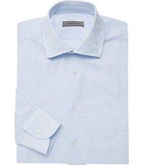 linen-blend dress shirt