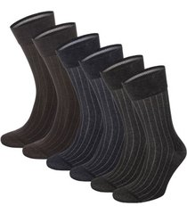 topeco 6 stuks mens mercerized cotton multi pack socks * gratis verzending *
