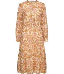 dress jurk knielengte geel sofie schnoor