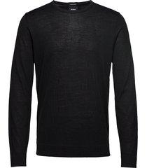 11 k-martin-r 10004217 gebreide trui met ronde kraag zwart strellson