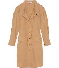 casual coolness dress in golden beige