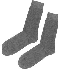 calzedonia short warm cotton socks man grey size 42-43