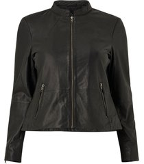 skinnjacka yhaneen l/s leather jacket