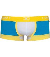 cueca boxer premium dionisio collection turquesa