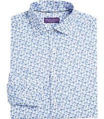 palm tree dress shirt