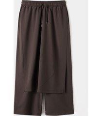 hombres japón estilo kimono streetwear pierna ancha informal suelta pantalones