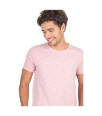 camiseta básica premium flamê fit taco masculina