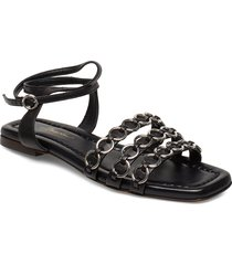 alyse - slipper sandal w rings shoes summer shoes flat sandals svart 3.1 phillip lim