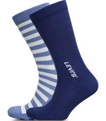 levis men regular cut spliced strip underwear socks regular socks blå levi´s