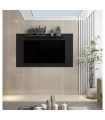 painel para tv 48 polegadas samba / texas - preto - rpm móveis