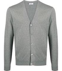 closed lightweight cardigan - grey