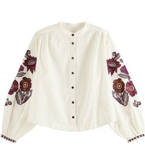 blouse embroidered wit