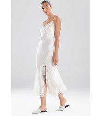 lolita gown pajamas / sleepwear / loungewear, women's, white, 100% silk, size xs, josie natori