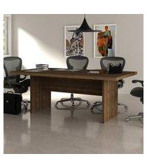 mesa de reunião para escritório tecno mobili me4119