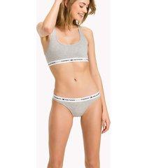 tommy hilfiger iconic cotton bikini grey