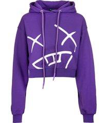 pharmacy industry woman purple xanny hoodie