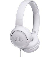 audífonos tune t500 con cable blanco jbl