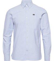 oxford classic shirt b.d. overhemd casual blauw sebago