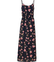 maxiklänning onlnova lux maxi strap dress aop