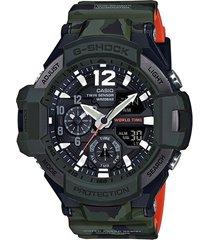 reloj g shock ga_1100sc_3a negro resina