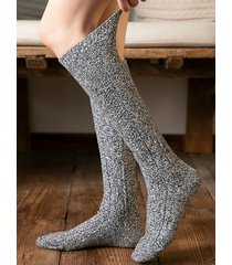 tubo medio informal calcetines