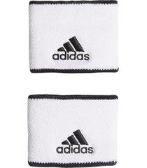 munhequeira adidas tennis wb s branco - branco - dafiti