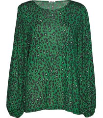 long-sleeved t-shirt blouse lange mouwen groen replay