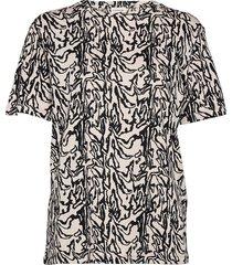 angell t-shirts & tops short-sleeved svart by malene birger
