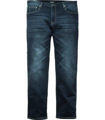 jeans men plus donkerblauw