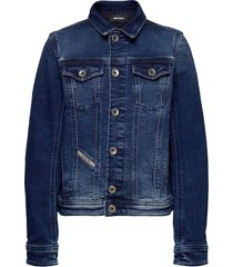 jaffyj jjj jacket outerwear jackets & coats denim & corduroy blauw diesel