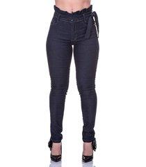 calça jeans skinny cós alto levanta bumbum selten