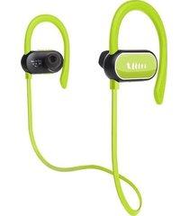 audífonos bluetooth deportivo a prueba de agua con mic - verde