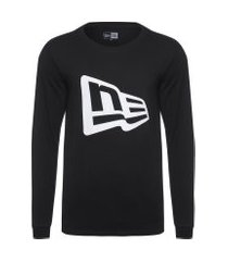 camiseta masculina basic saz duo - preto