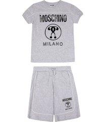 moschino teen shorts sets